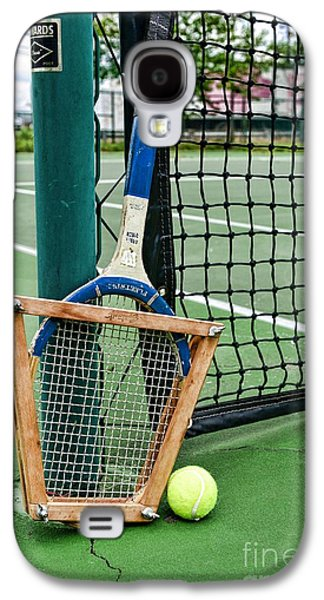 Volley Galaxy S4 Cases - Tennis - Tennis Anyone Galaxy S4 Case by Paul Ward