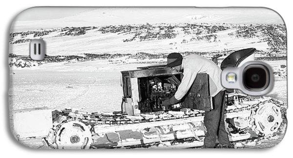Terra Nova Antarctic Motor Sledge Galaxy S4 Case by Scott Polar Research Institute
