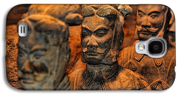 Historical Pictures Galaxy S4 Cases - Terracotta Warriors - The Emperors Army Galaxy S4 Case by Lee Dos Santos