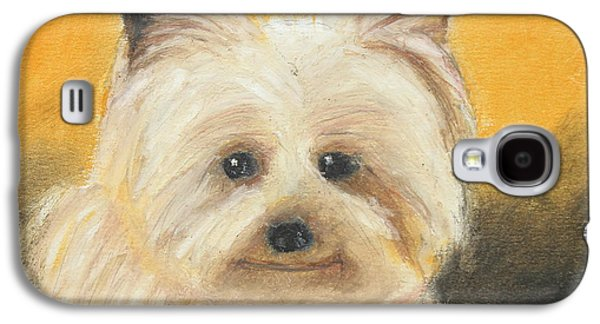 Puppies Galaxy S4 Cases - Terrier Galaxy S4 Case by Jeanne Fischer