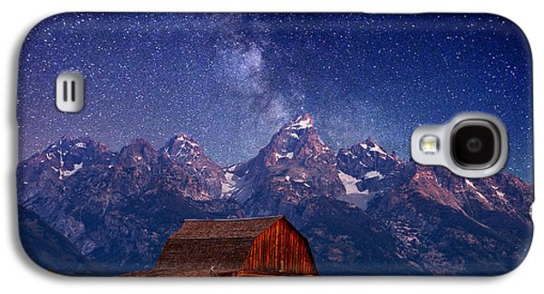 Photography Prints Galaxy S4 Cases - Teton Nights Galaxy S4 Case by Darren  White