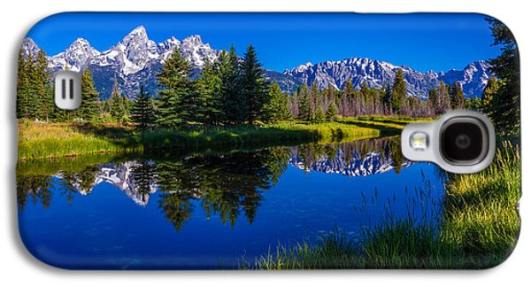 Road Travel Galaxy S4 Cases - Teton Reflection Galaxy S4 Case by Chad Dutson