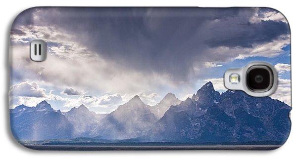 Beauty Mark Galaxy S4 Cases - Teton Storm Galaxy S4 Case by Mark Kiver