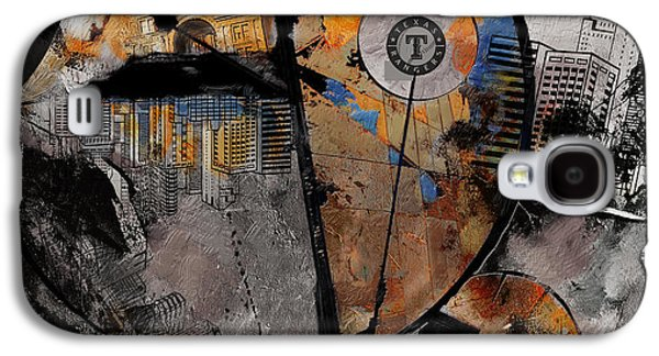 Texas - B Galaxy S4 Case by Corporate Art Task Force