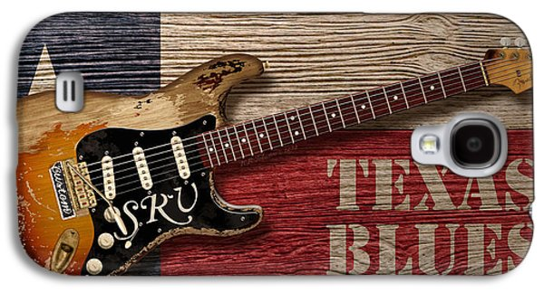 Texas Blues Galaxy S4 Case by WB Johnston