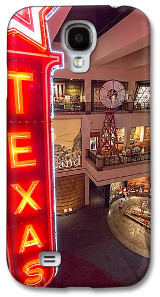 Texas In Lights Galaxy S4 Case by Tim Stanley