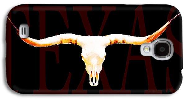 Texas Longhorns By Sharon Cummings Galaxy S4 Case by Sharon Cummings