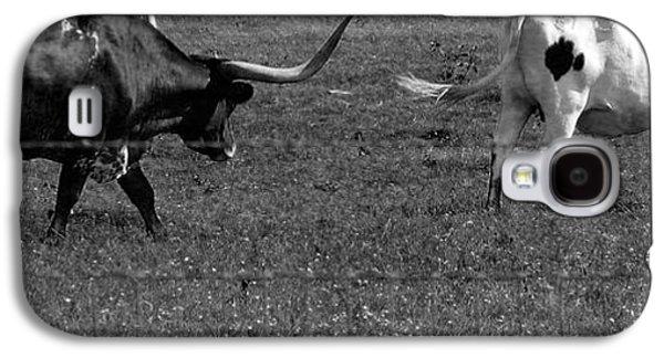 African-american Galaxy S4 Cases - Texas Longhorns Ii Galaxy S4 Case by Anita Lewis