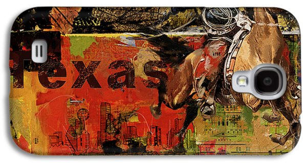 Texas Rodeo Galaxy S4 Case by Corporate Art Task Force