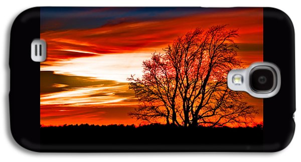 Christmas Eve Galaxy S4 Cases - Texas Sunset Galaxy S4 Case by Darryl Dalton