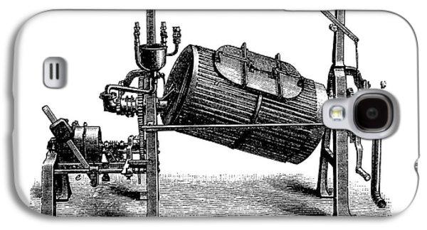 Washing Machine Galaxy S4 Cases - Textile Finishing Machine, 1880s Galaxy S4 Case by Bildagentur-online
