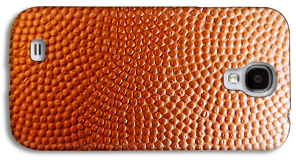 Basketballs Galaxy S4 Cases - Texture Galaxy S4 Case by Les Cunliffe