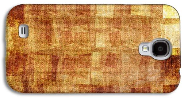 Torn Mixed Media Galaxy S4 Cases - Textured background Galaxy S4 Case by Jelena Jovanovic