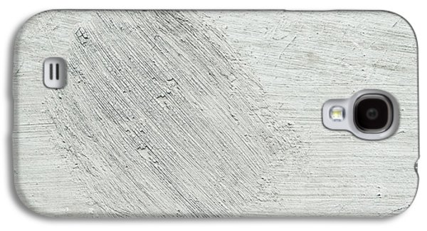 Beige Abstract Galaxy S4 Cases - Textured stone background Galaxy S4 Case by Tom Gowanlock