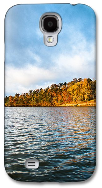Log Cabin Photographs Galaxy S4 Cases - Textures and Colors Galaxy S4 Case by Parker Cunningham