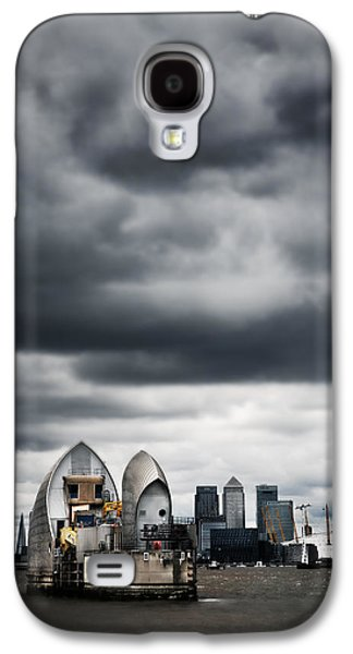 Landmarks Photographs Galaxy S4 Cases - Thames Barrier Galaxy S4 Case by Mark Rogan