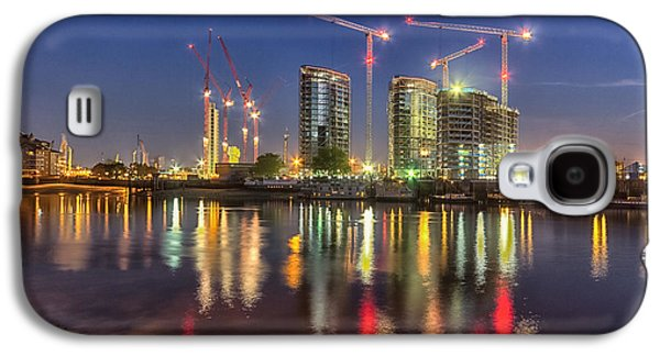 St George Galaxy S4 Cases - Thames View at Twilight Galaxy S4 Case by Ian Hufton