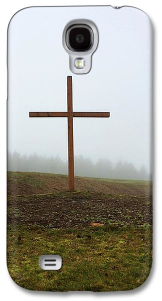 Crucifixtion Galaxy S4 Cases - Thank you Galaxy S4 Case by Cindy Blake