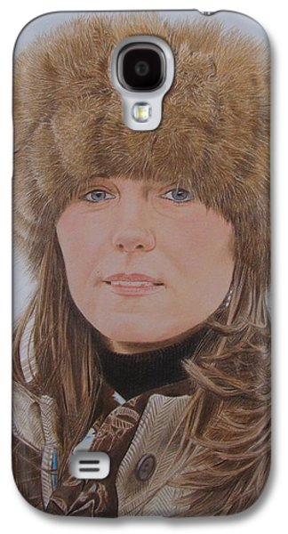 Kate Middleton Galaxy S4 Cases - That hat Galaxy S4 Case by Gary Fernandez