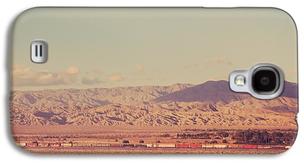 Train Photographs Galaxy S4 Cases - That Side of the Tracks Galaxy S4 Case by Laurie Search