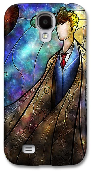 Galaxies Galaxy S4 Cases - The 10th Galaxy S4 Case by Mandie Manzano