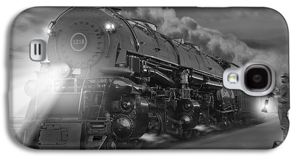 Smoke Digital Galaxy S4 Cases - The 1218 On the Move 2 Galaxy S4 Case by Mike McGlothlen