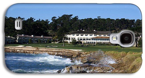 The 18th At Pebble Beach Galaxy S4 Case by Barbara Snyder