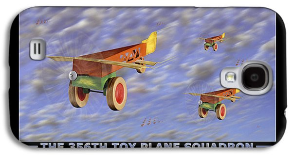 Gear Digital Galaxy S4 Cases - The 356th Toy Plane Squadron Galaxy S4 Case by Mike McGlothlen