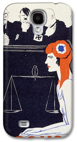 Franklin Drawings Galaxy S4 Cases - The Accused Galaxy S4 Case by Paul Iribe