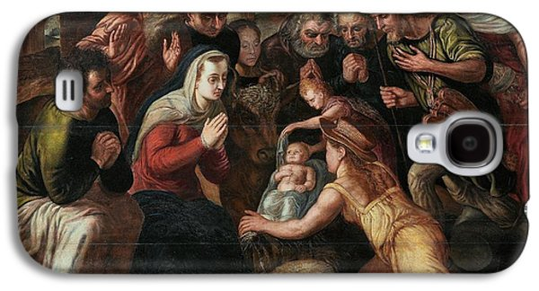 The Followers Galaxy S4 Cases - The Adoration of the Shepherds Galaxy S4 Case by Celestial Images