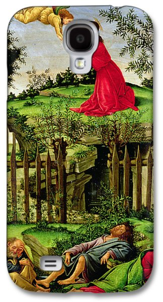Jesus Photographs Galaxy S4 Cases - The Agony In The Garden, C.1500 Oil On Canvas Galaxy S4 Case by Sandro Botticelli