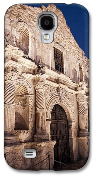 Landmarks Photographs Galaxy S4 Cases - The Alamo Galaxy S4 Case by Melany Sarafis