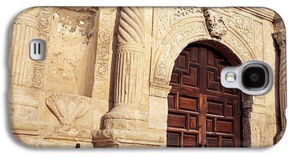 Entrance Door Galaxy S4 Cases - The Alamo San Antonio Tx Galaxy S4 Case by Panoramic Images