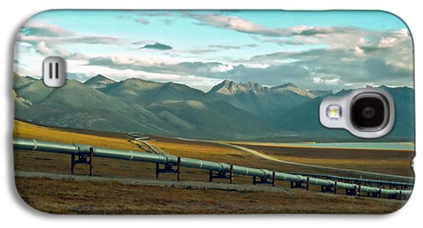 Beatles Galaxy S4 Cases - The Alaska Pipe Line Galaxy S4 Case by Gary Benson