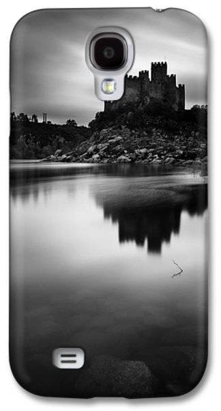 Fantasy Photographs Galaxy S4 Cases - The Almourol castle Galaxy S4 Case by Jorge Maia