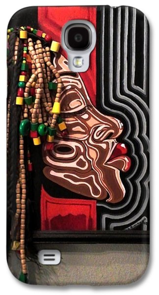 African-american Sculptures Galaxy S4 Cases - The Amazing Sista Galaxy S4 Case by SBrian Morgan