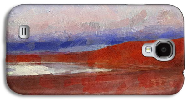 Abstract Landscape Galaxy S4 Cases - The Andes Landscape 5 Galaxy S4 Case by Yury Malkov