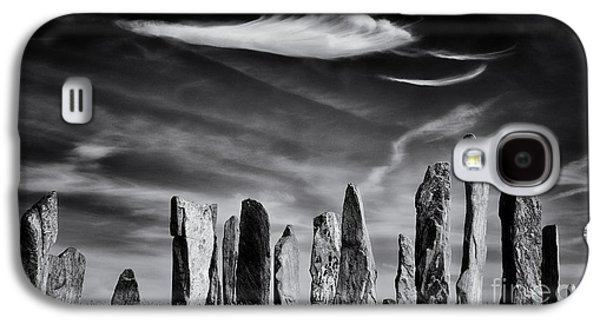 Monolith Galaxy S4 Cases - The Angel of Callanish  Galaxy S4 Case by Tim Gainey