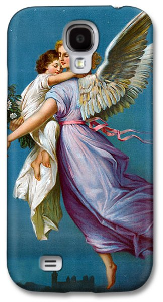 The Followers Galaxy S4 Cases - The Angel Of Peace Galaxy S4 Case by B T Babbitt