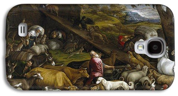 The Animals Entering Noah's Ark Galaxy S4 Case by Jacopo Bassano