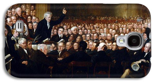 Anti-slavery Galaxy S4 Cases - The Anti-Slavery Society Convention 1840 Galaxy S4 Case by Benjamin Robert Haydon
