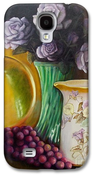 Old Pitcher Paintings Galaxy S4 Cases - The Antique Pitcher Galaxy S4 Case by Marlene Book