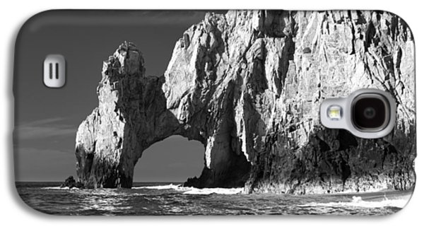 The Arch Cabo San Lucas In Black And White Galaxy S4 Case by Sebastian Musial