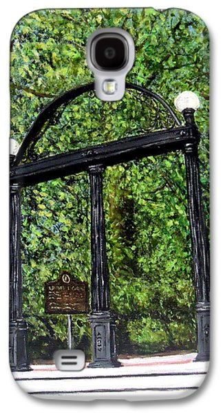 The Arch - University Of Georgia- Painting Galaxy S4 Case by Katie Phillips