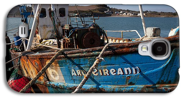 Fishing Village Galaxy S4 Cases - The Ard Eireann Fishing Boat Galaxy S4 Case by Panoramic Images