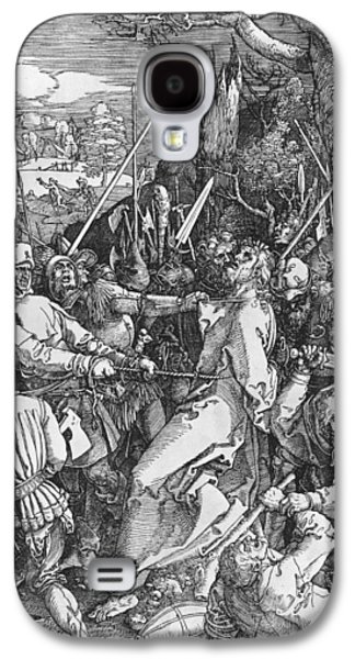Saviour Drawings Galaxy S4 Cases - The Arrest of Jesus Christ Galaxy S4 Case by Albrecht Durer or Duerer