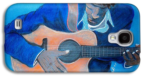 African-american Pastels Galaxy S4 Cases - The Balladeer Galaxy S4 Case by Charlie Black