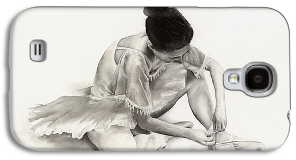 Ballet Dancers Paintings Galaxy S4 Cases - The Ballet Dancer Galaxy S4 Case by Hailey E Herrera