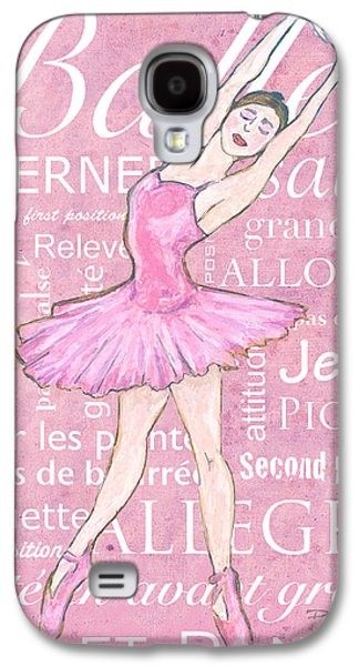 Ballet Dancers Pastels Galaxy S4 Cases - The Ballet Dancer Galaxy S4 Case by William Depaula