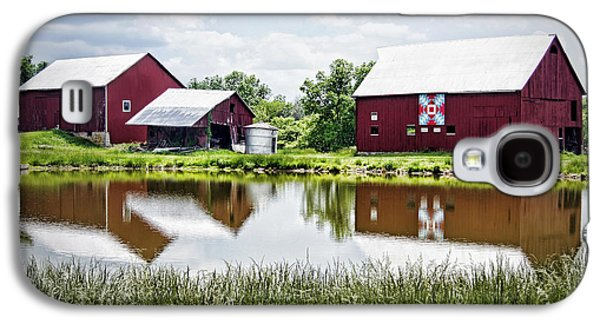 The Bandstand Quilt Barn Galaxy S4 Case by Cricket Hackmann